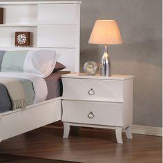 Wildon Home ® Berkley 2 Drawer Nightstand | Wayfair