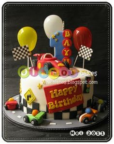 Racing Cake...