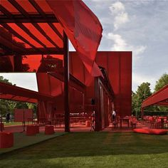 Here are the first official photos of the 10th Serpentine Gallery Pavilion in Kensington Gardens, London, designed by French architect Jean Nouvel. #Architecture