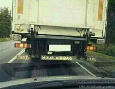 Test Your Airbag Here - https://shareitsfunny.com/test-your-airbag-here/ - Funny Pictures on  Share Its Funny  #testyourairbaghere