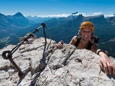 Via Ferrata Cortina d'Ampezzo Dolomites Italy