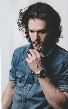 Kit Harington for Plugged