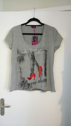 0f3c722eec7 ladies logo print top from TG size 20 NEW  fashion  clothes  shoes