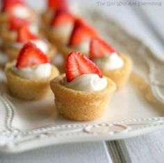 Mini Berry Tarts {The Girl Who Ate Everything}