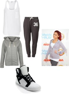 """I adore Ariana grande"" by mixerrusherdirectionerlovotic ❤ liked on Polyvore"