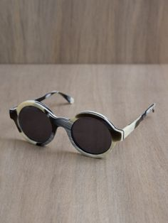 Illesteva Frieda Horn Sunglasses