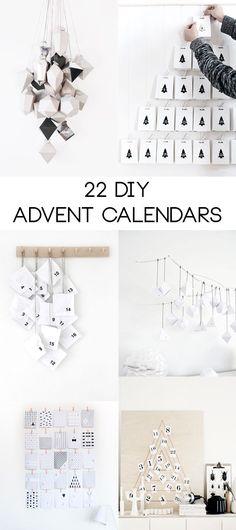 22 DIY Advent Calendars | Hungry Heart