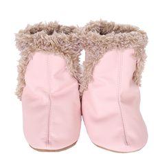 Robeez - Robeez Classic Soft Soles Boots, Pink, $36.00 (http://www.myrobeez.com/robeez-classic-soft-soles-bootie-pink-girls-0-24-months/)