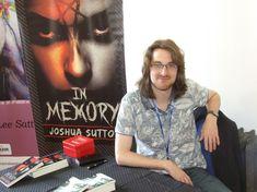 Author Joshua Sutton. Photo by Mark Cantrell