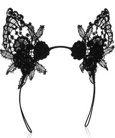 Mimi Holliday by Damaris - Lace Cat Ears Headband