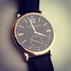 IF you get to buy a A. Lange & Sohne Langematik, then you can say that you've made something out of your life!