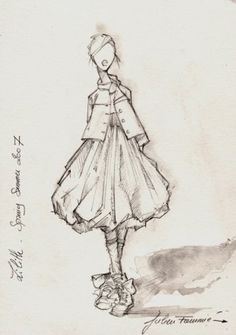 I love this!  (Lilith sketch Spring Summer 2007)
