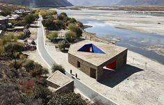 Imagem 3 de 25 da galeria de Zhang Ke recebe a medalha Alvar Aalto Centro de Visitantes Tibet Niyang River Image © ZAO/standardarchitecture Alvar Aalto, Beijing, Contemporary Architecture, China Architecture, Public Architecture, Creative Architecture, Architecture Details, Helsinki, Pavilion