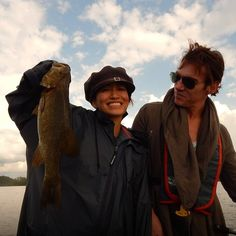 Jonny and Mara at Montreal (4 снимки) I am Soo Happy to see those smile  #JonathanRhysMeyers and Mara Lane at fishing yesterday  Credit to :https://www.facebook.com/PecheVieuxMontreal #pretty #perfect #loveit #montreal #monday #fishing #amazing #awesome #thetudors #dracula #stonewall #love #thankyou