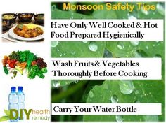 Mansoon Safety Tips