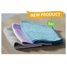 "Microfiber Variety Pack - M.V.P. - Norwex This incredible bundle includes compact versions of our EnviroCloth, Window Cloth and Body Cloth with BacLock®. Keep them around your home or take them on the go—they're perfect for any occasion! Size: 16 cm x 16 cm / 6.3"" x 6.3"" Item #: 300203 graphite, purple, teal set of 3 cloths with pouch"
