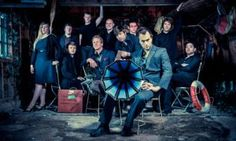 Bellowhead. Seen them many times, the first being at Huntingdon Hall in Worcester 2006, the day before I bought my first car.
