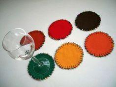 Como fazer porta copos passo a passo – O artesanato proporciona diversas oportunidades, sendo para p