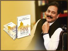 think with me book, think with me summit, Saharasri Subrata roy
