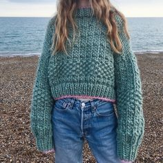 Chunky Knitwear, Knit Fashion, Fall Winter Outfits, Sweater Weather, Diy Clothes, Knit Crochet, Autumn Fashion, Cute Outfits, My Style
