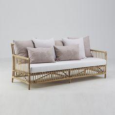 Caroline 3-sits soffa Natur rotting, Sika-Design