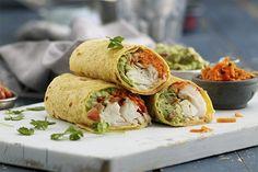 Har du torsk til overs, kan du servere restene på denne måten. Frisk, Fresh Rolls, Salsa, Healthy Recipes, Eat, Ethnic Recipes, Food, Cilantro, Essen