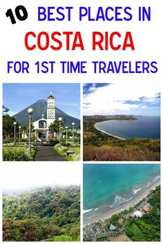 Visiting Costa Rica for the first time? Use our guide to plan your trip for where to go! Here are the 10 best destinations for 1st timers in Costa Rica mytanfeet.com/...