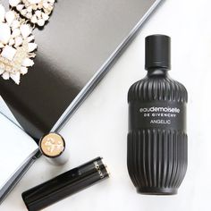 """""""Eau de Moiselle de Givenchy Angelic"""" by @givenchybeauty has found a seat at my fragrance table! Listen I googled the fragrance at least 3 times before and after it came. Before to get a basic understanding of the scent and after because I couldn't believe it was a fragrance for women. It is a dark fantasy of pine and wood/amber followed by this after note of subtle powder. It is a long deviation from my usual light airy pillows of florals to this deep bed of pine with a slight notion of…"""