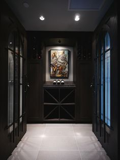 4 Steps to Building Your Dream Room – Wine Cellar Edition #vancouverrenovation #wineroom #darkcabinets
