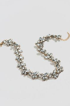 Melody Crystal Statment Necklace