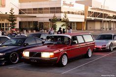 old school volvo wagon