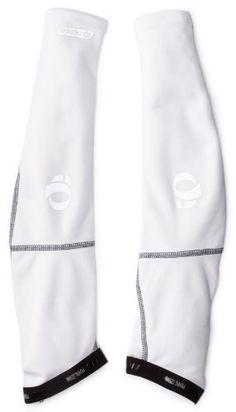 Pearl Izumi Men's Elite Thermal Arm Warmer, White, Small - http://ridingjerseys.com/pearl-izumi-mens-elite-thermal-arm-warmer-white-small/