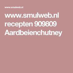 www.smulweb.nl recepten 909809 Aardbeienchutney