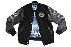 12a5406c51a Black Panther Bomber - Wool and Leather Varsity Fashion Essay