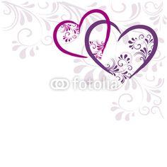 Hintergrund Herzen