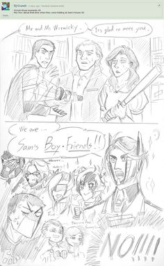 baymovie human - We Are Sam's.... by Autumn123Charlotte on DeviantArt   OMP!! Optimus, you are so confuzzled with Earth terms! XDD