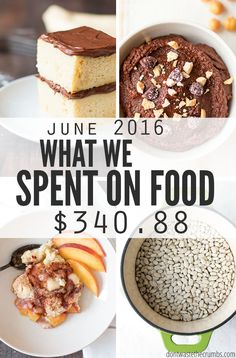 Living on a food budget isn't easy, but you can make it work and still eat healthy food. This is how one family of 4 eats real food while living on a food budget in Atlanta, GA. :: DontWastetheCrumbs.com