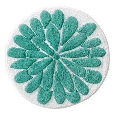 Garden Vine Floral Bath  Rug $30 Another contender in the bathroom rug race