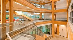 UBC's Center for Interactive Research on Sustainability. A living lab, this building makes more energy than it uses, treats water on site & houses smart creative minds paving the way to a more sustainable future. Sweet.