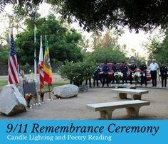 9/11 Rememberance Ceremony Sunday, September 11, 4:30 p.m. North Hollywood Park…