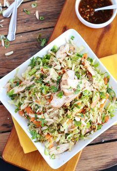 Little Broken | Ginger Sesame Chicken Salad | http://www.littlebroken.com