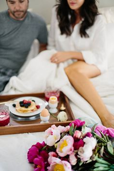 Breakfast of Champions. For a romantic start to your Valentine's Day, nothing beats a classic, abundant breakfast in bed. Wake up early with your significant other to whip up a delicious meal, and tuck back in to enjoy the fruits of your labor.