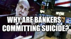 """""""He suggested that the deaths might be connected to a massive $2 billion loss incurred by JPMorgan trader Bruno Iksil in 2012 involving credit default swaps, a huge manipulation going on in the precious metals market & fraud involving Libor (London interest rate) & Forex (currency market). He views the bankers' deaths as a harbinger of an economic implosion, and believes they're being murdered, with a """"scripted"""" suicide story placed as a cover-up. """"…"""