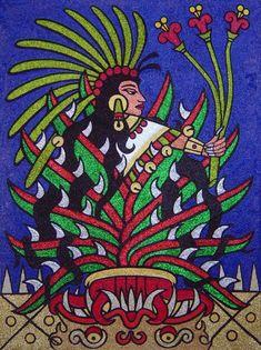 Mayahuel Diosa del Maguey