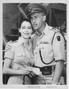Stuart Granger and ava gardner - Bhowani Junction.  What a truly gorgeous pair.