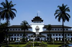 Gedung Sate. The most beautiful building in Bandung, West Java, Indonesia. :)