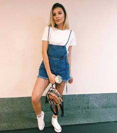 best fashion for women that's making a comeback 41 Cute Summer Outfits, Pretty Outfits, Spring Outfits, Casual Outfits, Cute Outfits, 90s Fashion, Fashion Outfits, Womens Fashion, 1990s Outfit