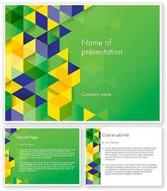 environmental target powerpoint template | powerpoint templates, Presentation templates