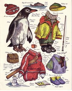 Penguin to dress