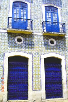 São Luis do Maranhão e suas fachadas azulejadas, herança portuguesa!